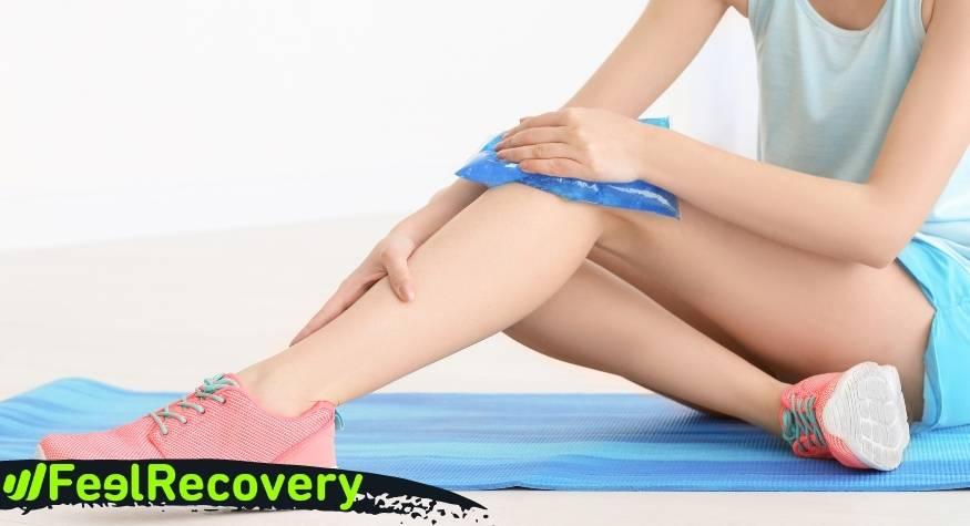 Cómo se realizan las terapias de frío y calor de forma correcta para recuperar y desinflamar lesiones deportivas