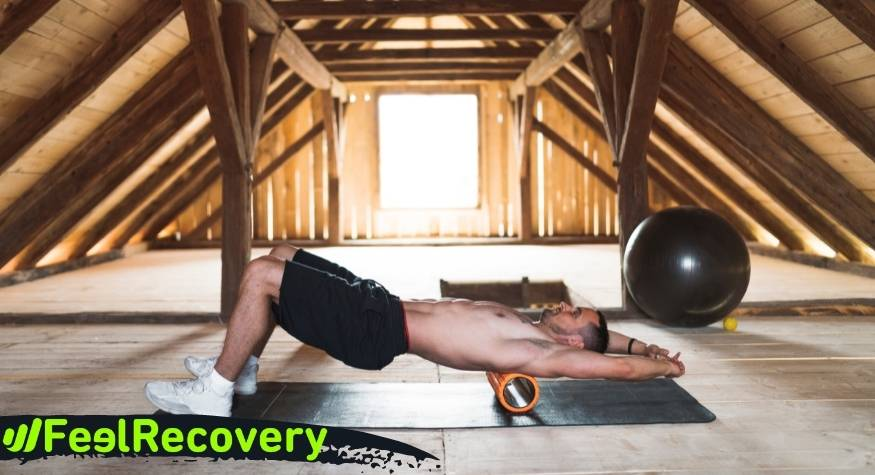 How to relieve trigger point pain using the Foam Roller?