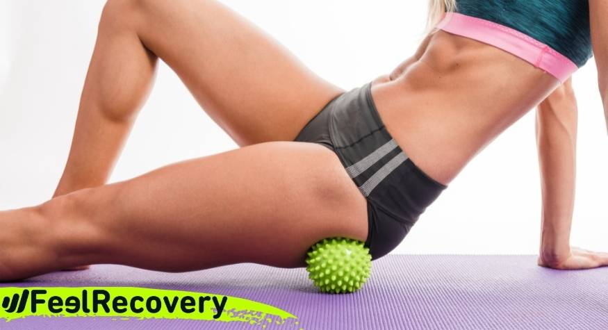 How to relieve sciatica pain with myofascial massage balls?