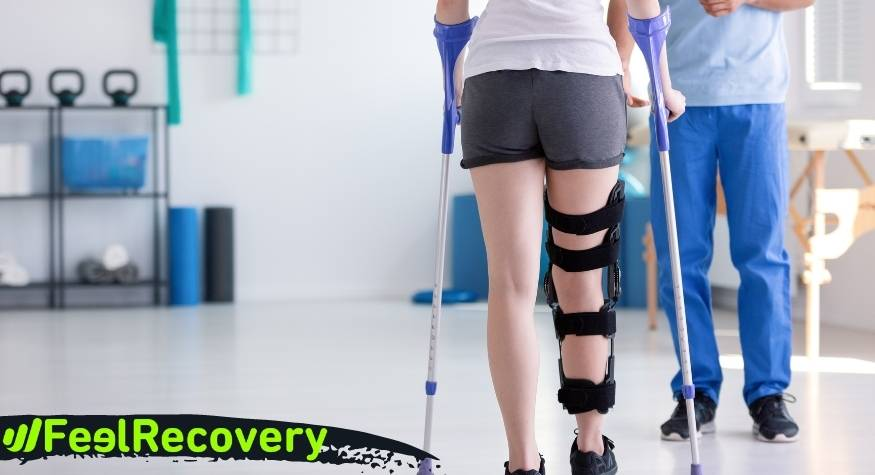 How can we recover from the symptoms and pain after an operation?
