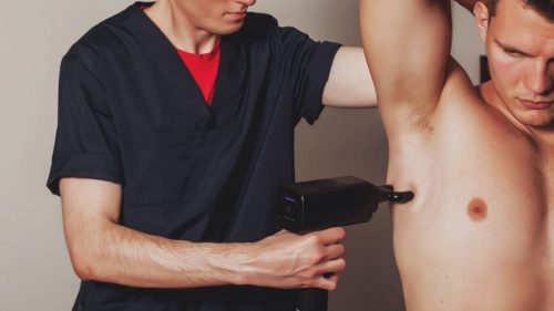 How to use the electric massager gun for trigger points?