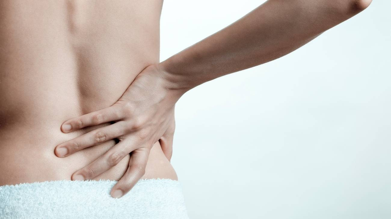 How to use the massage balls for sciatica and lower back pain?