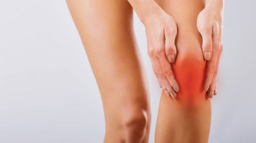 How do you use ice gel packs to help relieve bursitis pain?