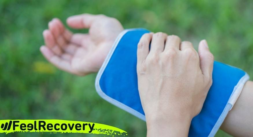 How to use cold gel packs and reduce inflammation from joint tendonitis?