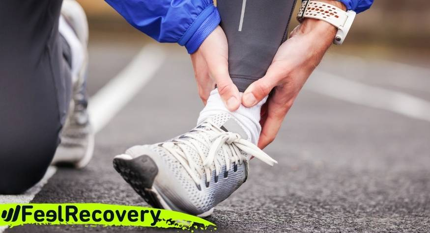 What are the health benefits of elastic compression ankle supports for men and women?