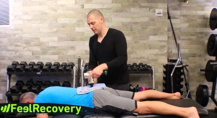 ¿Cómo usar una pistola de masaje para liberar puntos de dolor miofascial de forma natural?