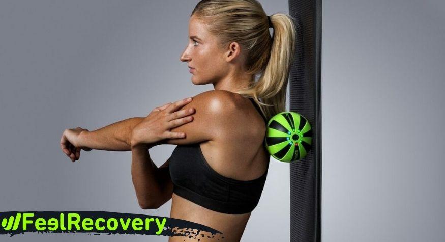¿Cómo usar las bolas de masaje con vibración?