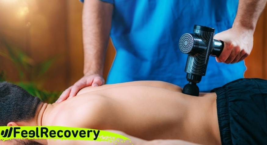 How to use a massage gun to relieve sciatica back pain?