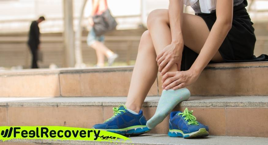 What are the causes and symptoms of ankle pain?