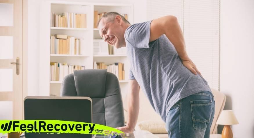 ¿Cuáles son las causas y los síntomas del dolor en la espalda?