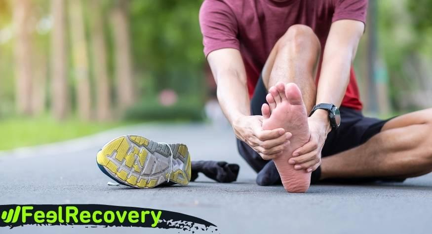 ¿Cuáles son las causas y origen del dolor del pie por una fascitis plantar?