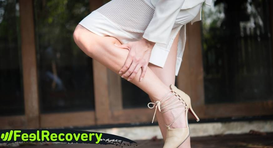 What are the causes and origin of pain and swelling in tired legs?
