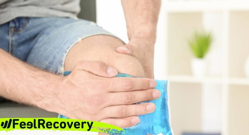 ¿Cuáles son las ventajas de aplicar frío para reducir el dolor articular por bursitis?