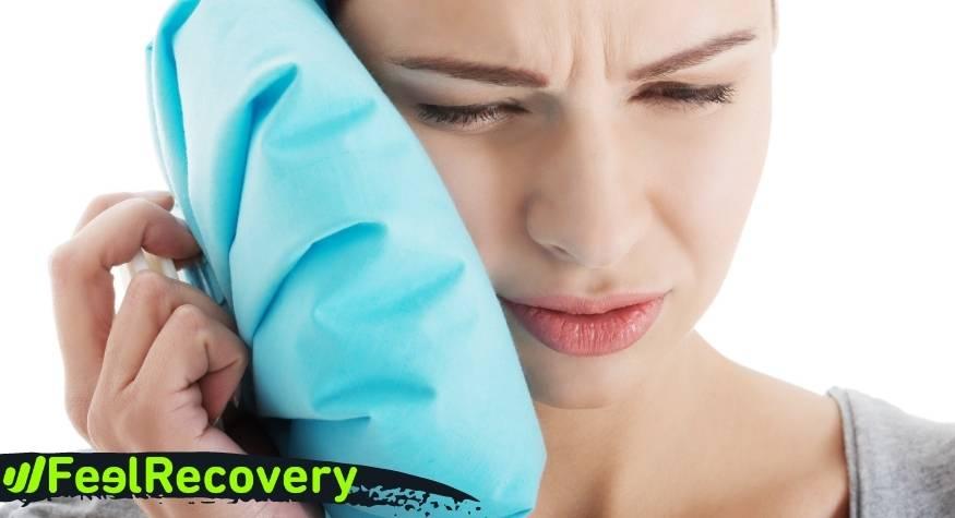 Cuáles son las ventajas de aplicar frío para reducir el dolor de muelas del juicio