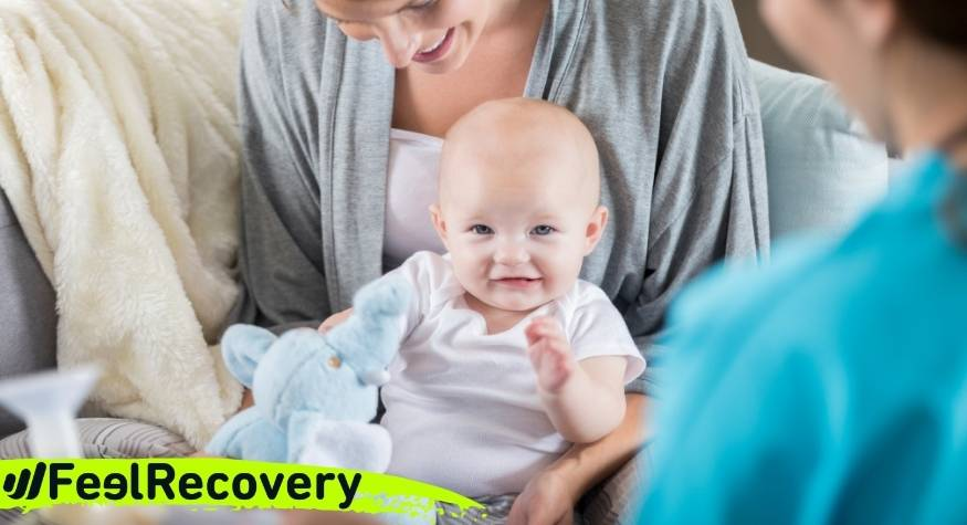 What are the advantages of applying cold to reduce pain in swollen breasts due to breastfeeding?
