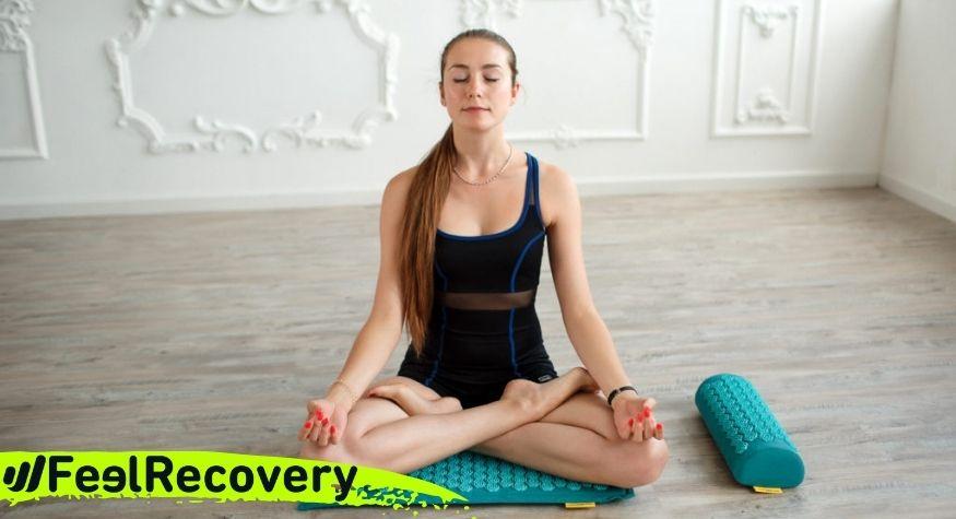 ¿Cuáles son los beneficios de meditar con una esterilla de acupresión?