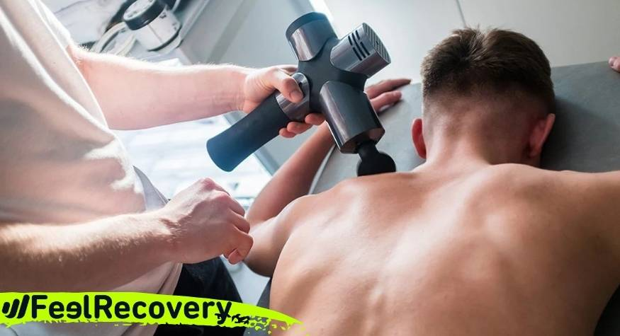 What are the main benefits of muscle massage guns?