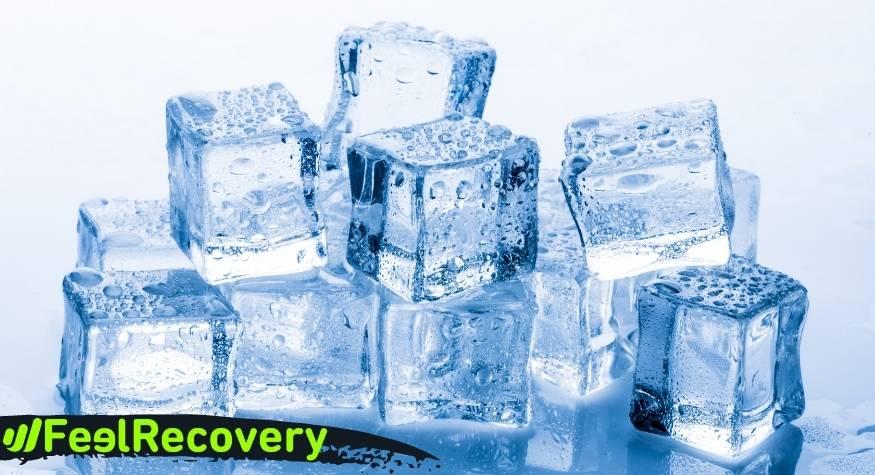 Cuándo aplicar frío para una lesión