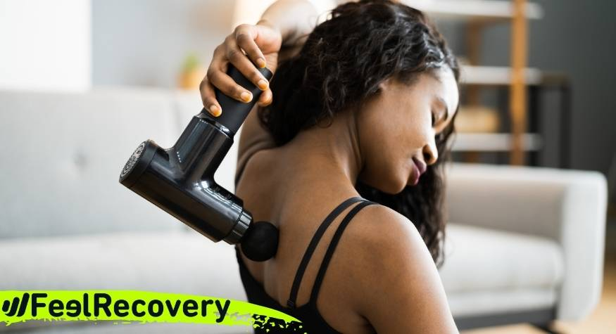 When and how to use percussion therapy with a muscle massage gun?