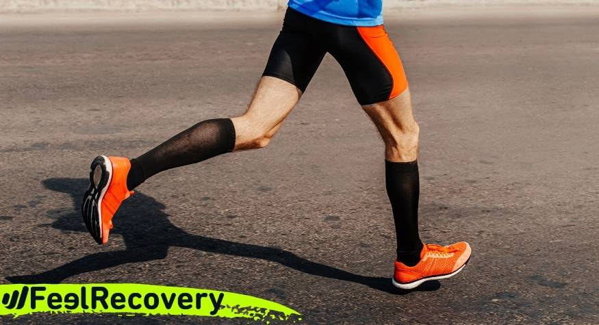 When and how to use leg compression sleeves and socks to improve your sport?