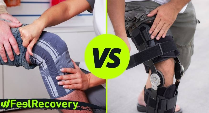 What are the differences between knee supports and knee compression sleeves?