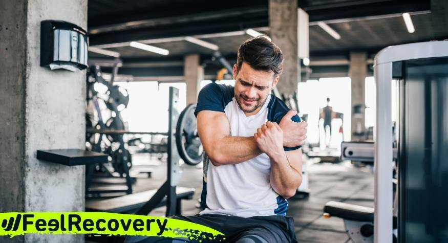 In which sports and physical activities is shoulder injury common?