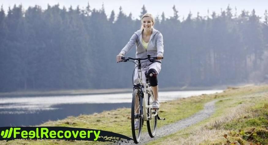 ¿Funcionan realmente las rodilleras de compresión en el ciclismo?