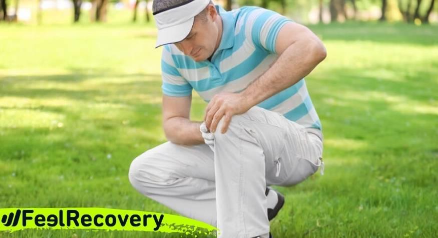 ¿Funcionan realmente las rodilleras de compresión para golfistas?