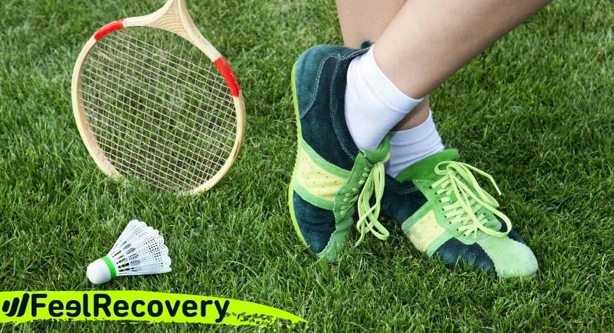 ¿Funcionan realmente las tobilleras de compresión para tenis y bádminton?