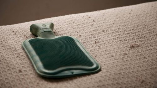 When do I use a microwave wheat bags vs hot water bottle for pain relief?