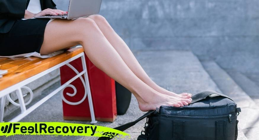 What is better for recovering tired legs, hot or cold?