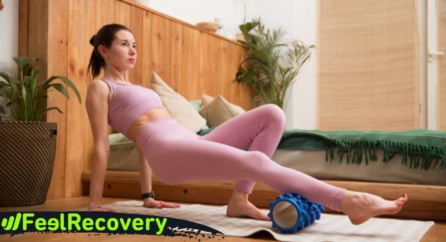 ¿Qué puedes tratar con este rodillo masajeador?