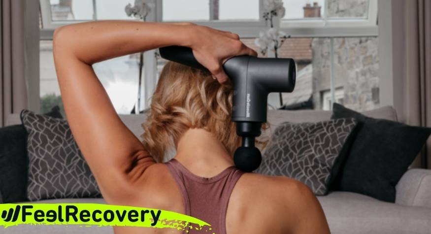 What does power and stroke length mean in a massage gun?