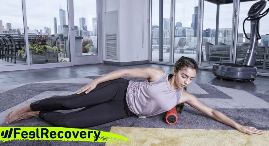What to consider before performing myofascial release massages with Foam Foller with vibration?
