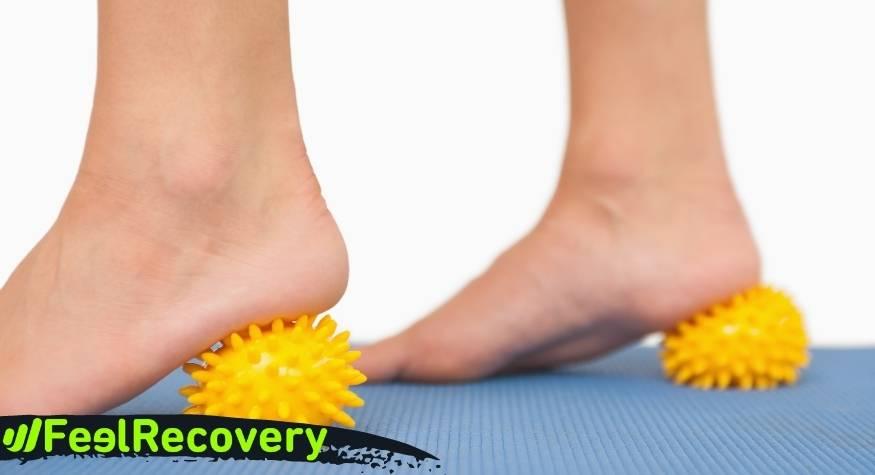 ¿Qué tipo de dolencias o lesiones se pueden tratar con bolas de masaje para puntos gatillo?