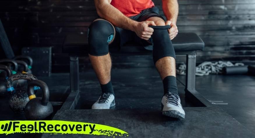 ¿Qué tipo de rodilleras y cintas de compresión son las mejores para lesiones en deportes de fuerza?