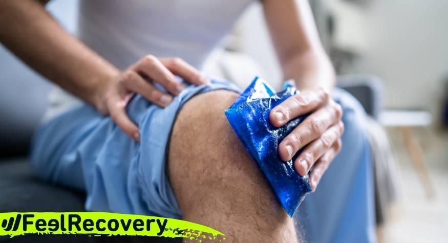 Cuándo es mejor aplicar frío para reducir los síntomas de una lesión
