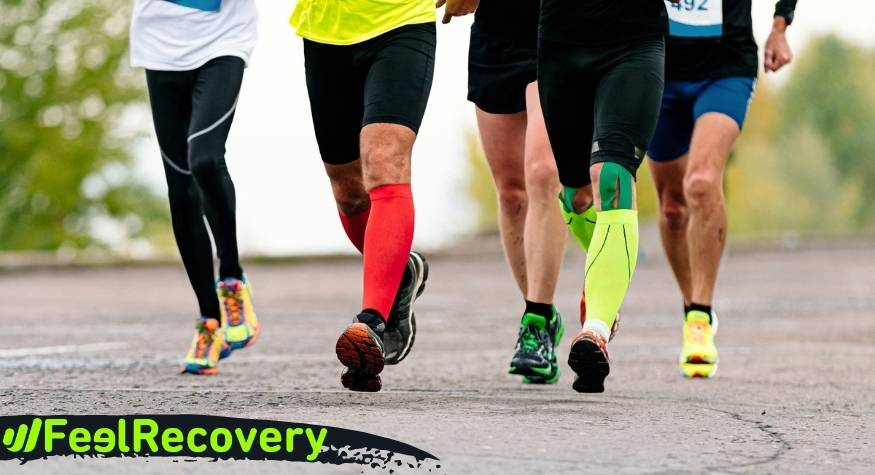 compression sleeves in sport practice